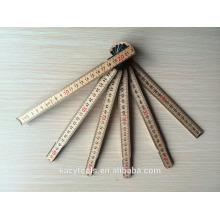 Swedish Style Wooden Folding Ruler
