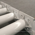 Hot dip galvanized steel and powder coating tapered conical street lighting pole and outdoor lamp post