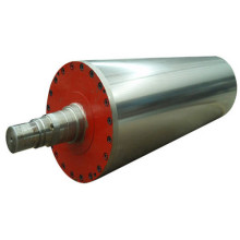 Blind drilled rubber covered Jumbo Press Roll