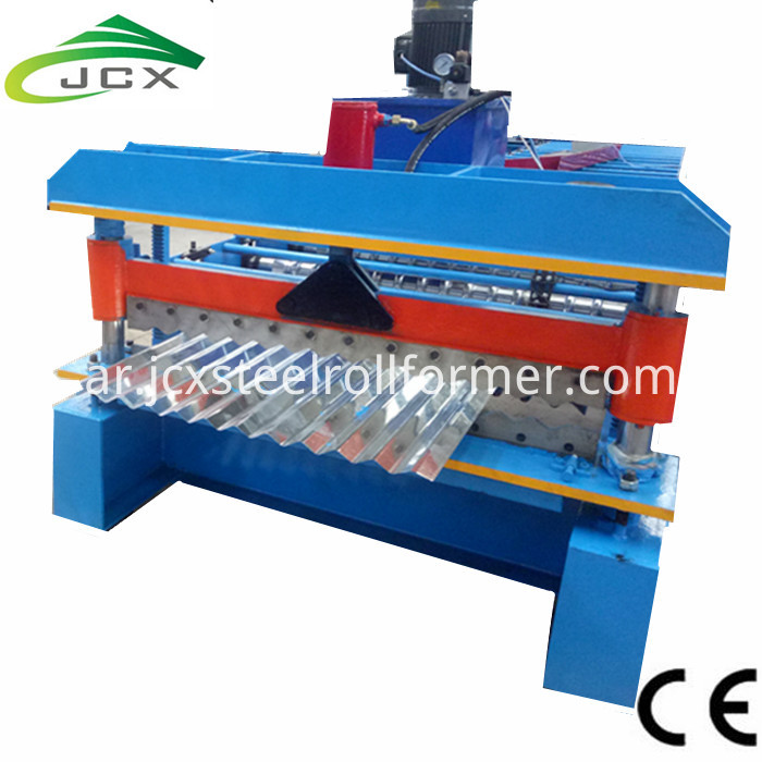 Colour Corrugated Machine