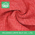Tecido de estofamento de veludo de corda brilhante para carro, tecido de capa de carro