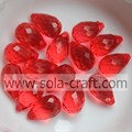 Mix color Clear Rhombus Water Drop Plastic Beads for Earring