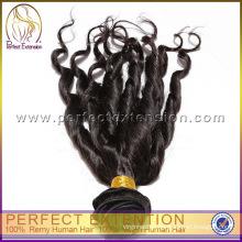 Verwickeln Sie freies Remy-Menschenhaar-Frühlings-Locken-Einschlag-Haar von Indien