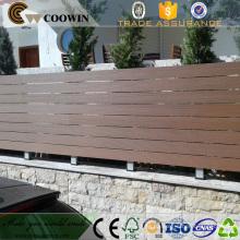 Decking сада WPC Материал пластик пол экрана композитный древесины