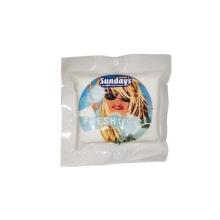 Paquet individuel de lingettes humides nettoyantes pour serviettes fraîches