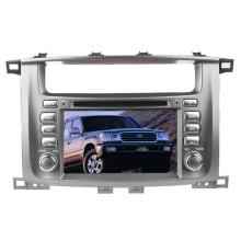 Ajuste de 2DIN coches reproductor de DVD para Toyota Land Cruiser LC100 con Radio Bluetooth estéreo TV GPS sistema de navegación