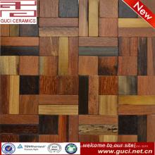 heißes Design Produkt gemischt Quadrat Massivholz Fliesen Dekoration
