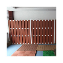 Cheap Price WPC Basic Fence Wood Plastic Composite Garden Fence
