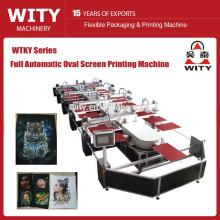 A mais nova máquina de impressão oval automática da tela de tela