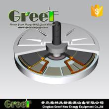 Low Torque Low Weight Magnet Generator for Vertical Wind Turbine
