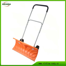 Heavy Duty Snow Shovel with Wheels