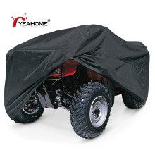 Cubierta clásica negra para ATV Cubiertas duraderas impermeables anti-UV para cuatriciclos