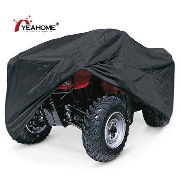 Classic Black ATV Cover Durable Anti-UV Waterproof Quad Bike Covers