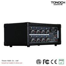 Tonoch 8 Channel Power Box DJ Mixer