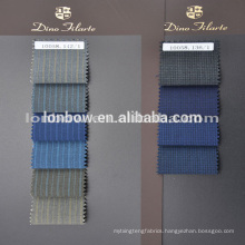 2015 Woven cloth fashion wool fabric stripe style designs business suit