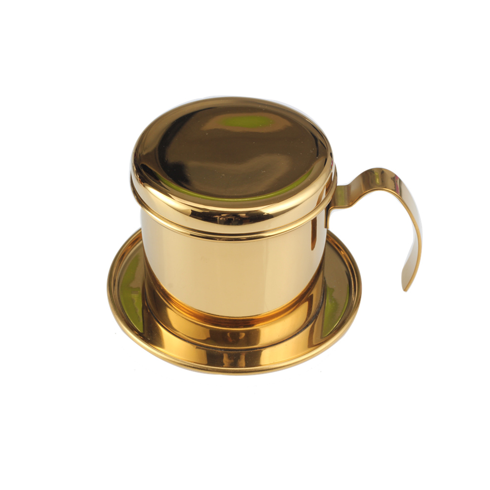 New Design Champagne Gold Salt Shaker