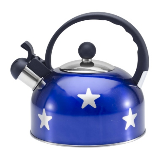 KHK125 3.5L color painting Teakettle blue color