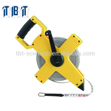 ABS CASE OEM TBT survey Fiberglass measuring tape Long Measuring tape fiberglass tape Measure 30m, 50m