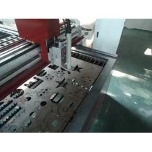 Cortador de plasma CNC de metal de precisión con cortadora tipo pórtico / tipo portale / tipo mesa para máquina de corte de acero