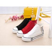 New Style Casual Girl Student Shoes with Zipper (NF-8)