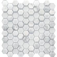 Mosaico De Piedra De Mármol De Cristal / Mosaico De Cristal