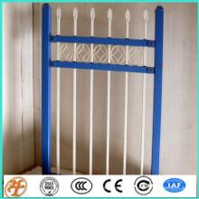 Hermosos modelos de puertas y vallas de hierro forjado