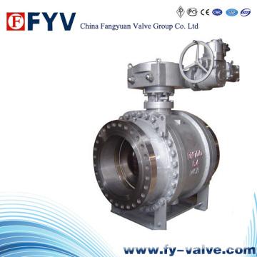 API / GB Pipeline Gas industrial Válvula de bola de muñón