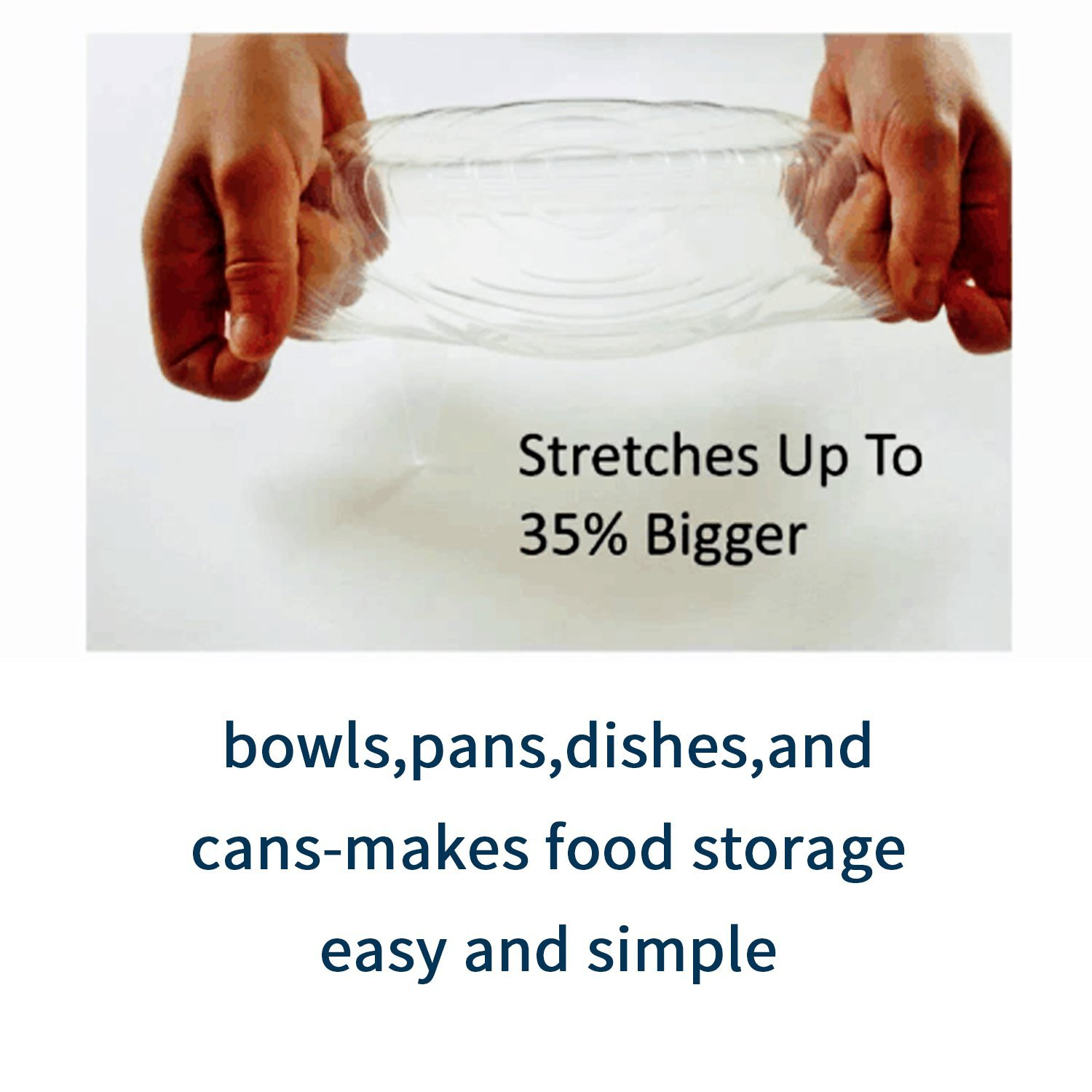 Food Grade Silicone Stretch Lids