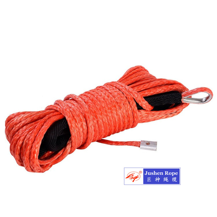 High Performance 100 Uhwmpe Synthetic Winch Rope 1