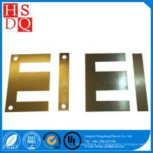 Núcleo de ferro da folha do silicone da laminação do transformador da forma de E