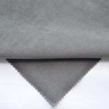 quick drying fashion fabric dark Grey cotton fabric elastic Corduroy