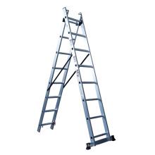 Escaleras telescópicas Escalera de extensión de aluminio de sección 3 para escaleras de características y industriales