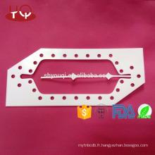 Garnitures de joint en caoutchouc de téflon blanc adapté aux besoins du client joints de garniture d'étanchéité d'huile d'eau / de PTFE / rondelle plate pour la pompe, compresseur, centrifugeuse