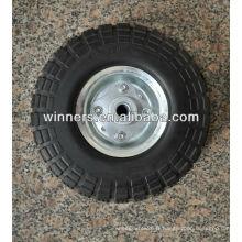 Roue de brouette avec le pneu de mousse d'unité centrale