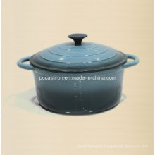 7qt Enamel Cast Iron Stock Pot Ce Approved Factory China