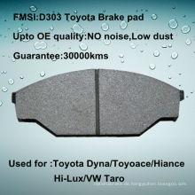 Toyota Hilux Bremsbelag D303