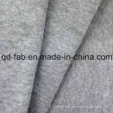 55% Candeal 45% algodón orgánico Tejido de jersey ligero -Gray-by The Yard
