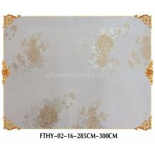 Revêtement mural sans couture de papier peint de textile de Feitex Revêtement mural de jacquard de haute qualité