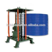 Günstige tragbare automatische Bedachung Platte Platte gemalt Metall Crimpmaschine, verzinkte Stahl Curving Roll Forming Machine