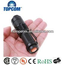 Mini linterna de zoom de alta potencia de zoom