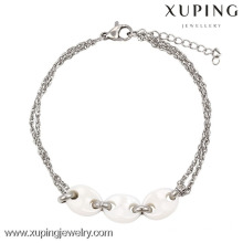 74418-xuping vietnam fashion jewelry silver color ceramic charms for charm bracelets