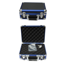 Caja azul del arma de aluminio azul de Guncase