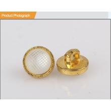 Bouton perle plaqué ABS pour chemise BA60381