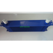 10 Row Blue An10 Transmission Oil Cooler Radiator Repair