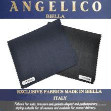 Tecido de lã de cashmere italiano 100 para terno de negócio para atacado