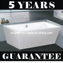 Moderne Sanitäre Ware Rechteckige Freistehende Badewanne (LT-JF-8066)