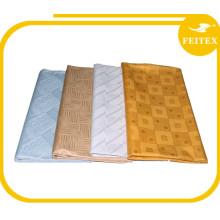 TOP Quality FEITEX Guinea Brocade Damask Shadda Bazin Riche Nigerian Cotton Designer Fabric African Dressing