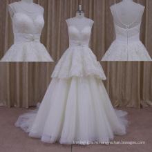 Личного портного сексуальный раструб свадебное платье носить видеть сквозь назад