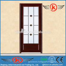 JK-AW9004 interior aluminum toilet door with frosted glass