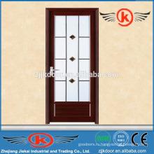 JK-AW9004 внутренняя алюминиевая туалетная дверь с матовым стеклом